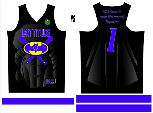 Battitude, Jersey, Sublimated