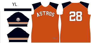 Astros, Full Sublimated Jersey