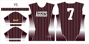 Aggies, Jersey, Sublimated