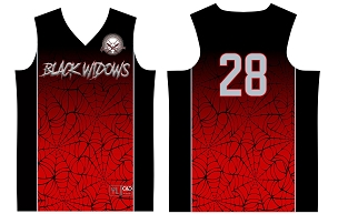 Black Widows, Full Sublimated Jersey