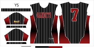 Bandits, Jersey, Sublimated