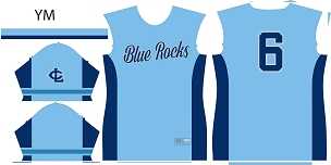 Blue Rocks, Jersey, Sublimated