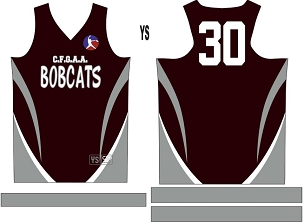 Bobcats, Jersey with Sleeves