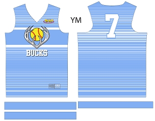 Bucks, Jersey, Sublimated