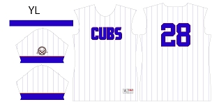 Cubs, Full Sublimated Jersey