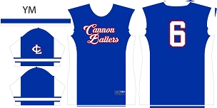 Cannonballers, Jersey, Sublimated