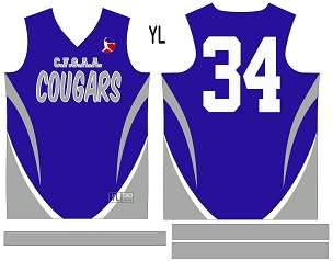 Cougars, Jersey with Sleeves