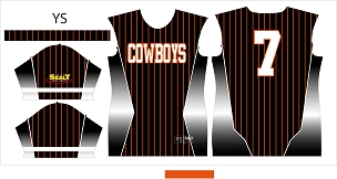 Cowboys, Jersey, Sublimated