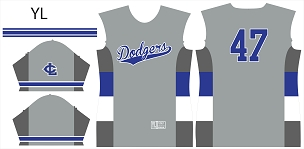 Dodgers, Jersey, Sublimated