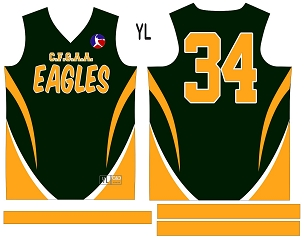 Eagles, Jersey with Sleeves