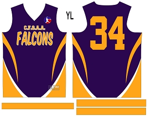 Falcons, Jersey with Sleeves