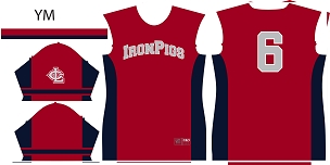 Iron Pigs, Jersey, Sublimated