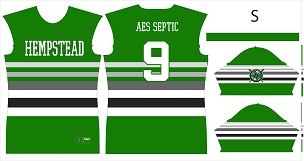 Hempstead Jrs Baseball, Jersey, Sublimated