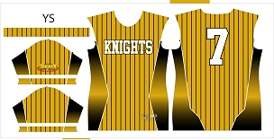 Knights, Jersey, Sublimated