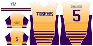LSU Tigers, Custom Jersey