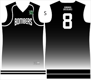 Bombers, Jersey, Sublimated