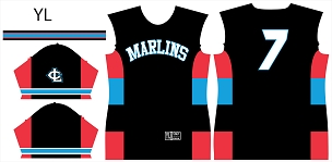 Marlins, Jersey, Sublimated