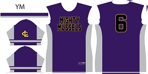 Mighty Mussels, Jersey, Sublimated