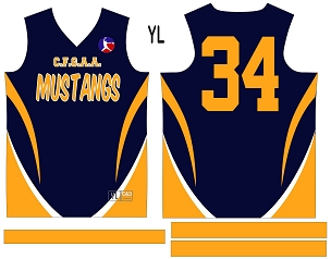 Mustangs, Jersey with Sleeves