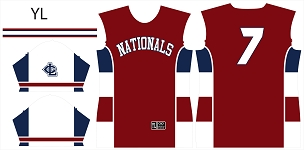 Nationals, Jersey, Sublimated