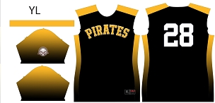 Pirates, Full Sublimated Jersey