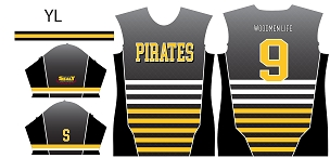 Pirates, Custom Jersey