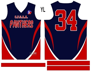 Panthers, Jersey with Sleeves