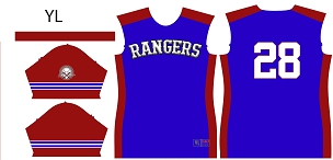 Rangers, Full Sublimated Jersey
