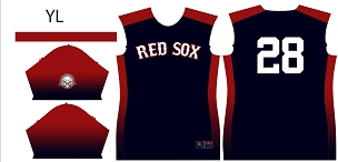 Red Sox, Full Sublimated Jersey