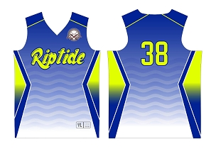 Riptide, Full Sublimated Jersey