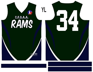 Rams, Jersey with Sleeves