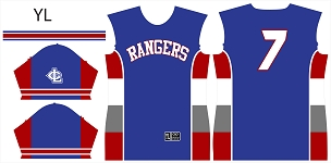 Rangers, Jersey, Sublimated