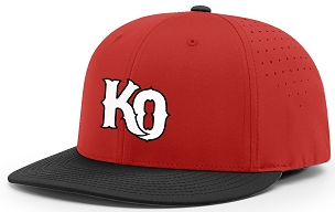 Cap, Katy Outlaws, Red/Black