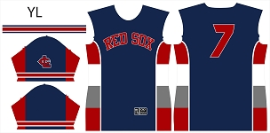 Red Sox, Jersey, Sublimated