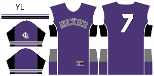 Rockies, Jersey, Sublimated