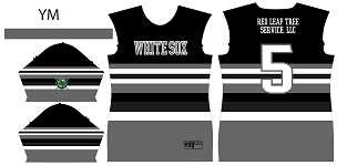 White Sox, Jersey, Sublimated