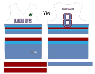 Diamond Divas, Jersey, Sublimated