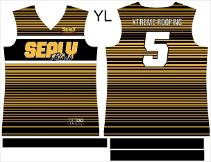 Sealy Black Softball, Custom Jersey