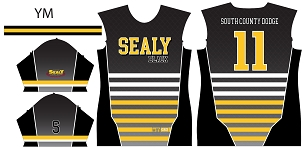 Sealy Black Baseball, Custom Jersey