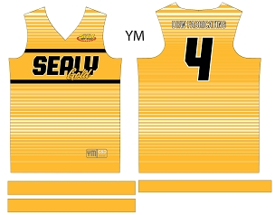 Sealy Gold Softball, Custom Jersey