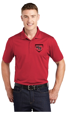 Polo, with Embroidered Katy Rage Logo