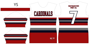 Cardinals, Jersey, Sublimated