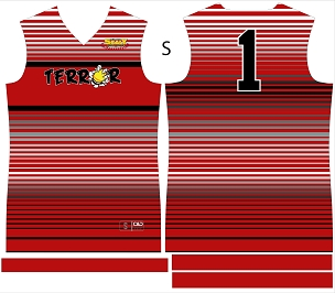 Terror, Jersey, Sublimated