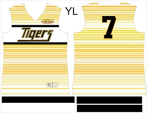 Tigers Softball, Jersey, Sublimated