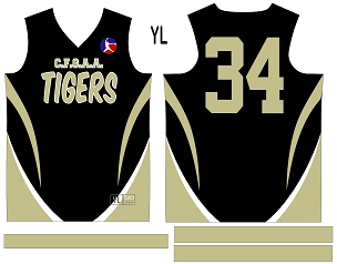 Tigers, Jersey with Sleeves
