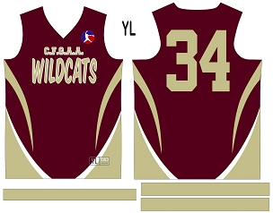 Wildcats, Jersey with Sleeves