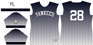 Yankees, Full Sublimated Jersey