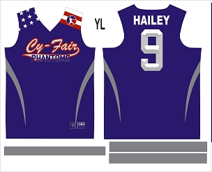 Phantom All-Stars, Sublimated Jersey with Sleeves
