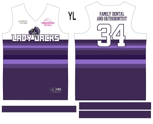 Lady Jacks, Jersey with Sleeves