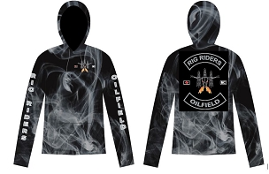 Hoody, Rig Riders, Members Logo, Fully Sublimated